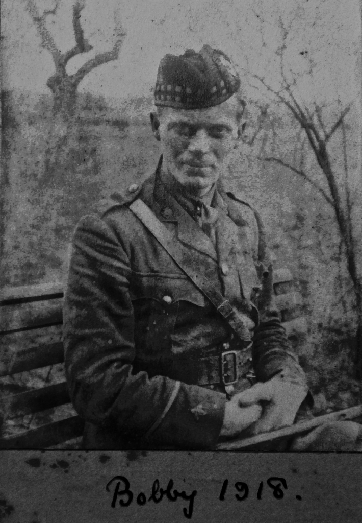 Uncle Bobby WW1 1918