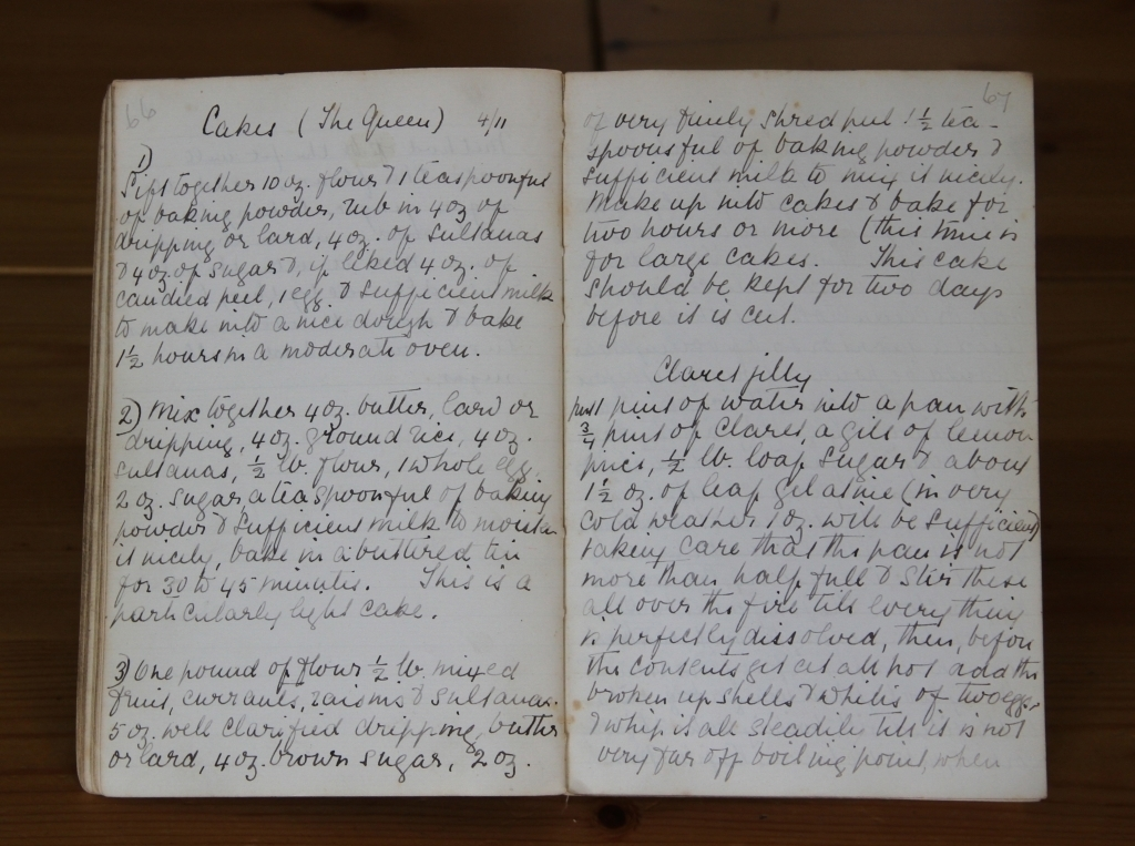 Granny Hall's Recipe Book
