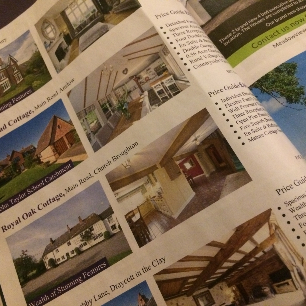 Searching the property ads