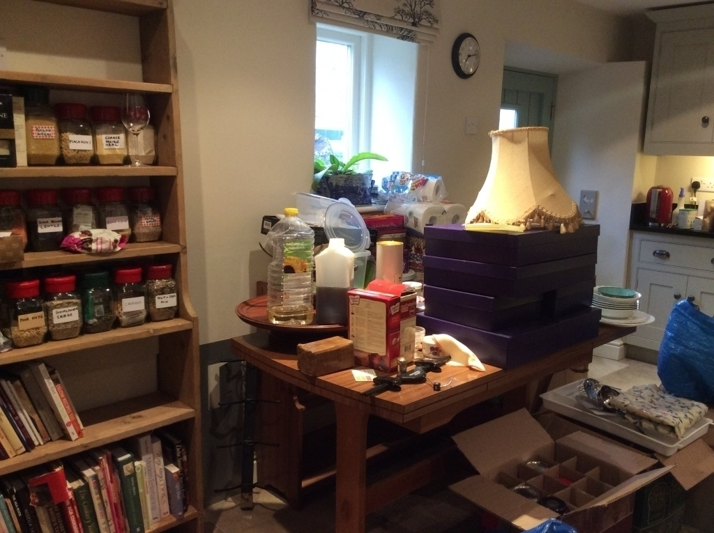 A nice clutter-free kitchen?