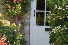 Orchard Farm Parwich, the front door