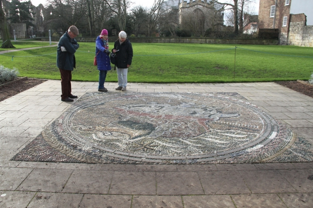 Geological Map, York Museum Gardens