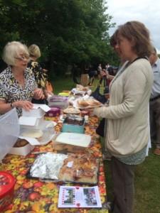 Bradbourne Fete Cake Stall