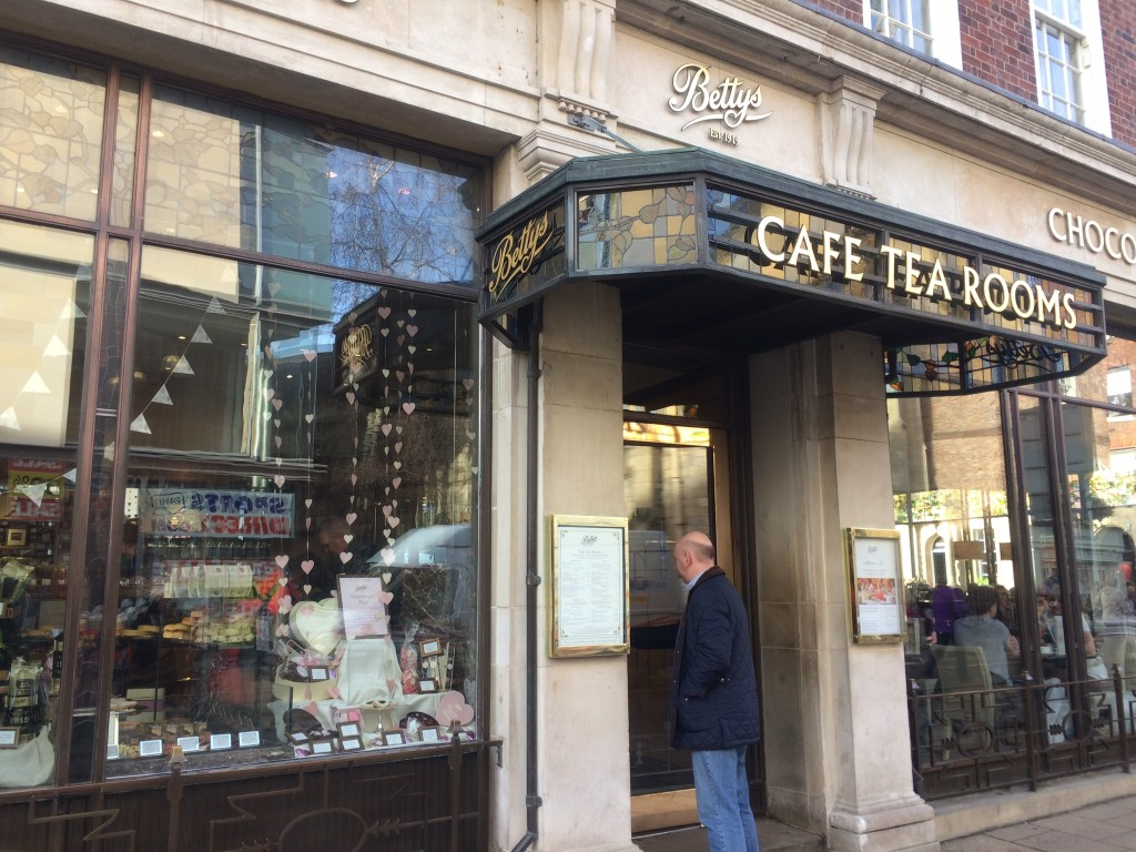 Betty's Tea Shop in York