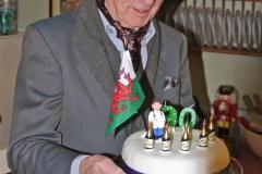 David Evans is 90!