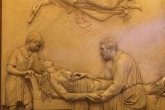 Priscilla on her deathbed