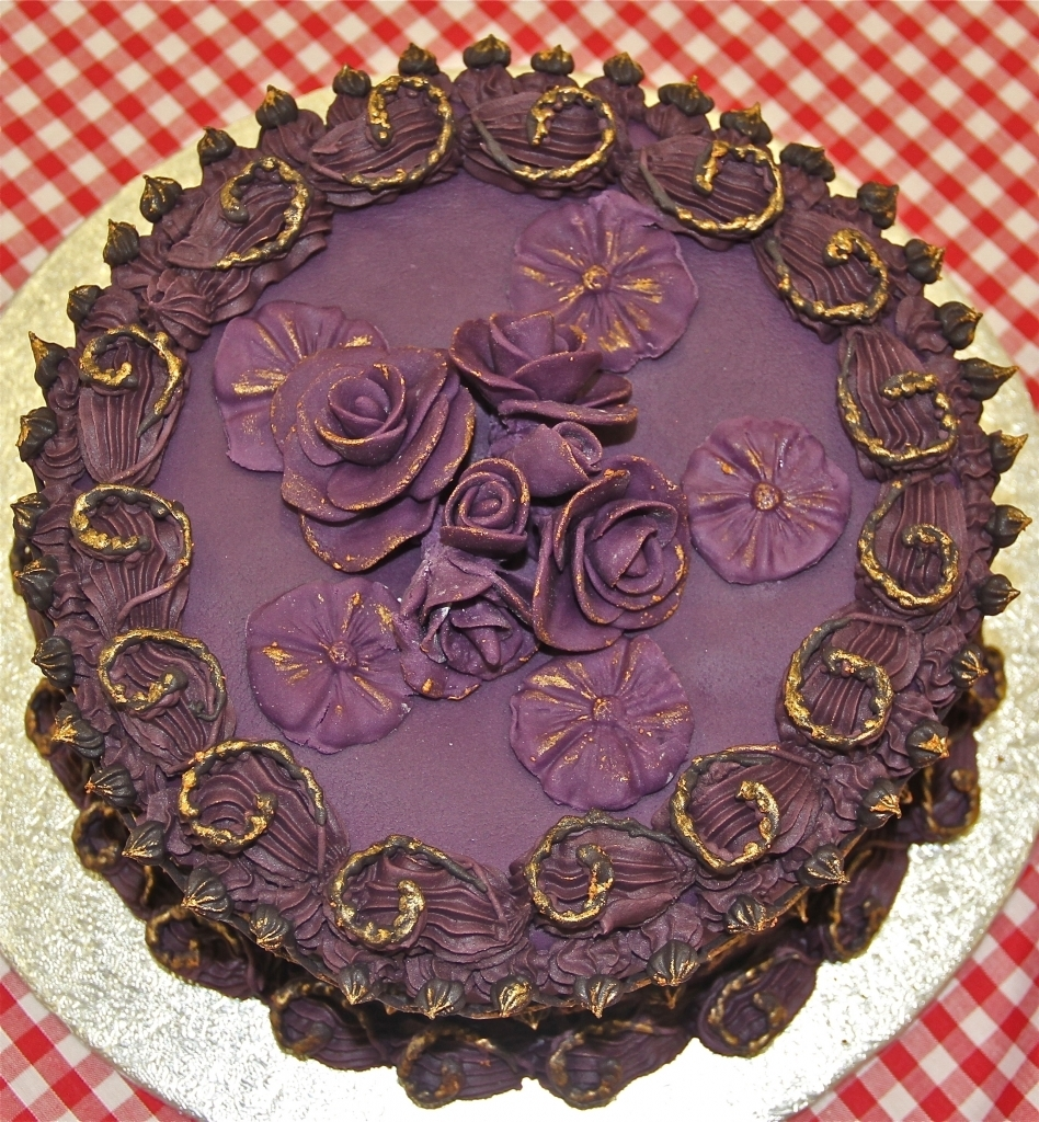 The winning presentation cake