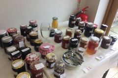 Judging the Jams and Jellies Section