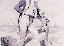 220px-Captain_Hoste_of_HMS_Amphion_by_Henry_Edridge_(London_1768-1821)-1