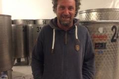 Oliver Roki, in his Winery