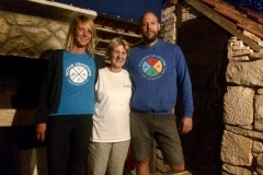 Our Planet-Vis team: Maja, Zora and Matko