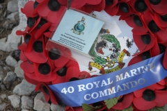 Remembering the 40 Royal Marine Commandos