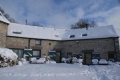 A snowy Orchard Farm