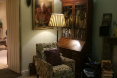 Another view of the sitting room at Hall Gates
