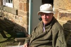 John F-S in the garden