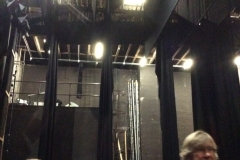 Exploring the very tall ceilinged stage