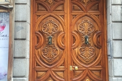 A Spanish door