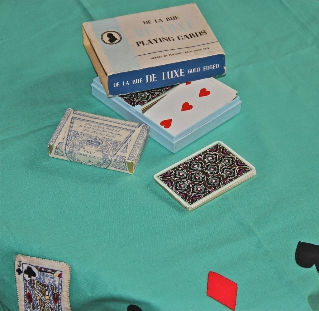 Antique de la Rue Playing Cards