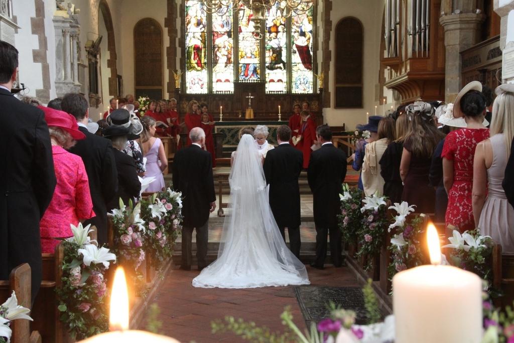 Nicola and Chris - their wedding