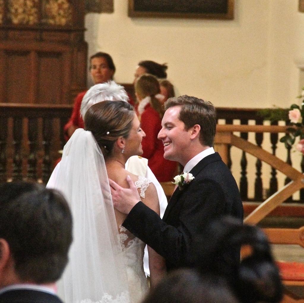 Nicola and Chris - marriage