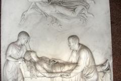 Bas relief, inside the mausoleum