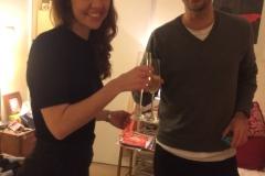 Sam and Nick: engagement celebrations