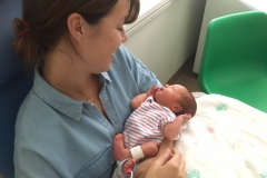 Sam with little Nell