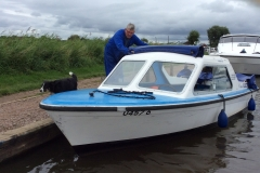 The day cruiser we hired at Potter Heigham