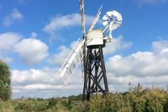 A windmill on Horsey (or was it Hickling?)