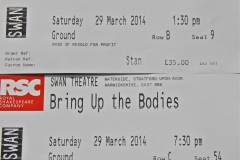 Wolf Hall and Bring Up the Bodies tickets