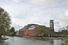 RSC Theatre from the river
