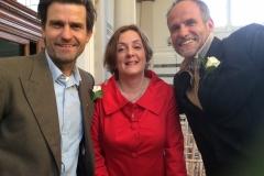 Tim, Ruthie, Steve