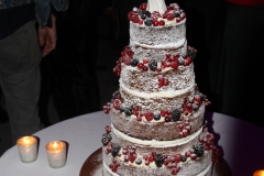 Sam and Nick's wedding cake