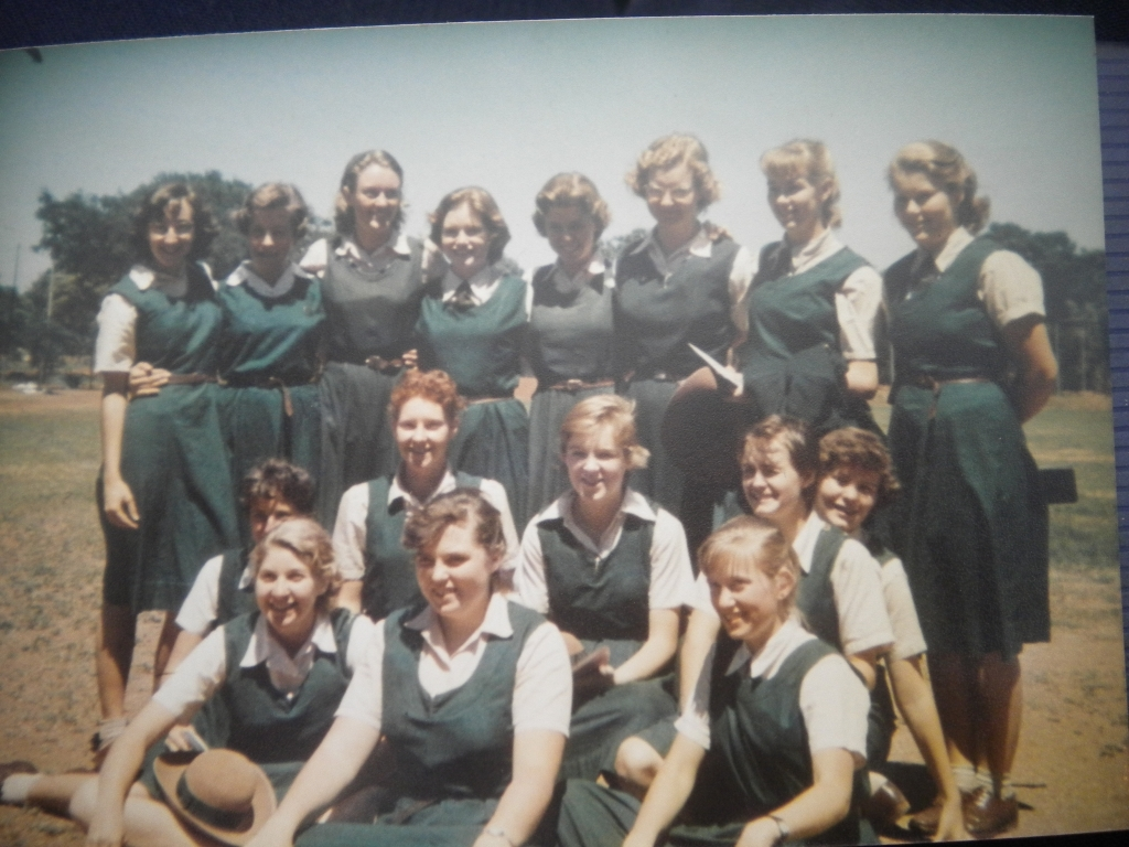 SC form, St Peter\'s (1957?) Sally Cathie\'s pic