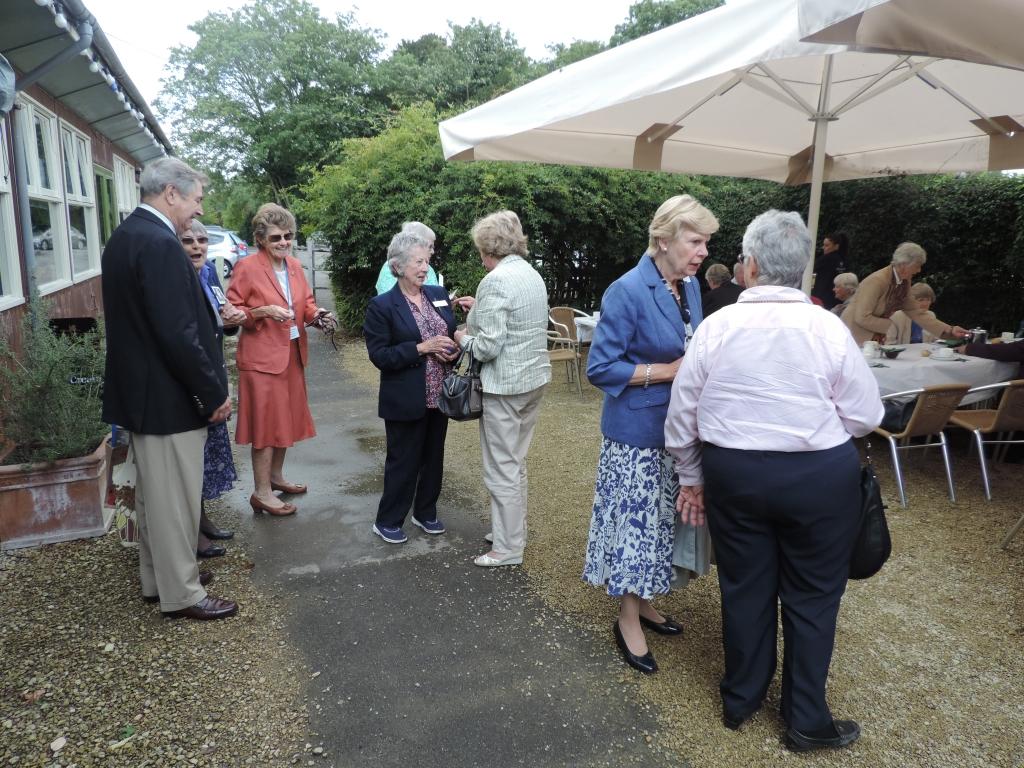 St Peter's Reunion Waterperry Gardens 26/8/15