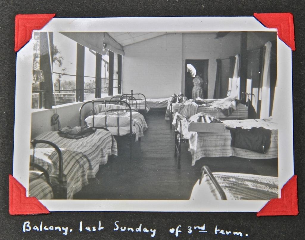 The balcony, where the most senior girls slept