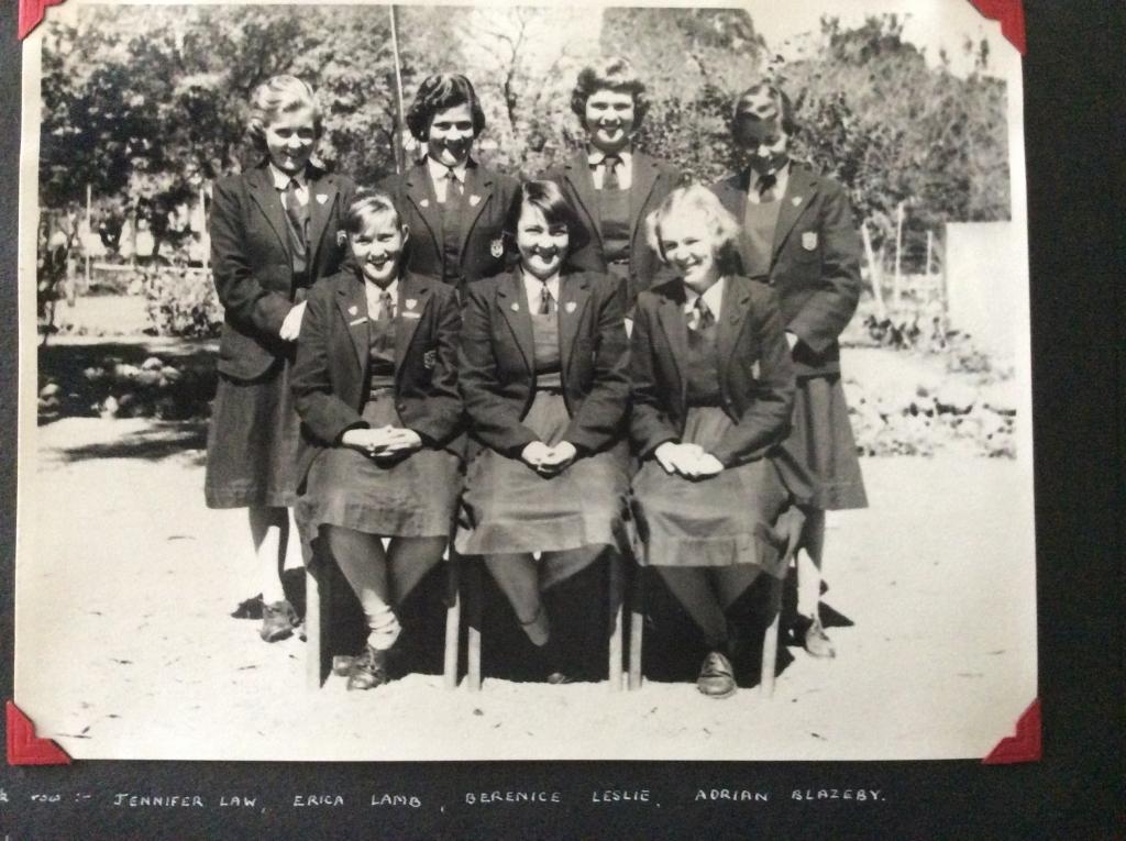 St Peter\'s School Prefects 1958