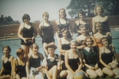 St Peter\'s girls at Milton School baths Sally Cathie\'s pic