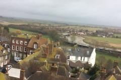 Bird's eye view of Rye