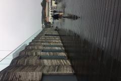 Hastings Pier in the rain