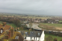 Rye from the top of the church tower