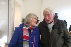 Sheila and John - two old friends